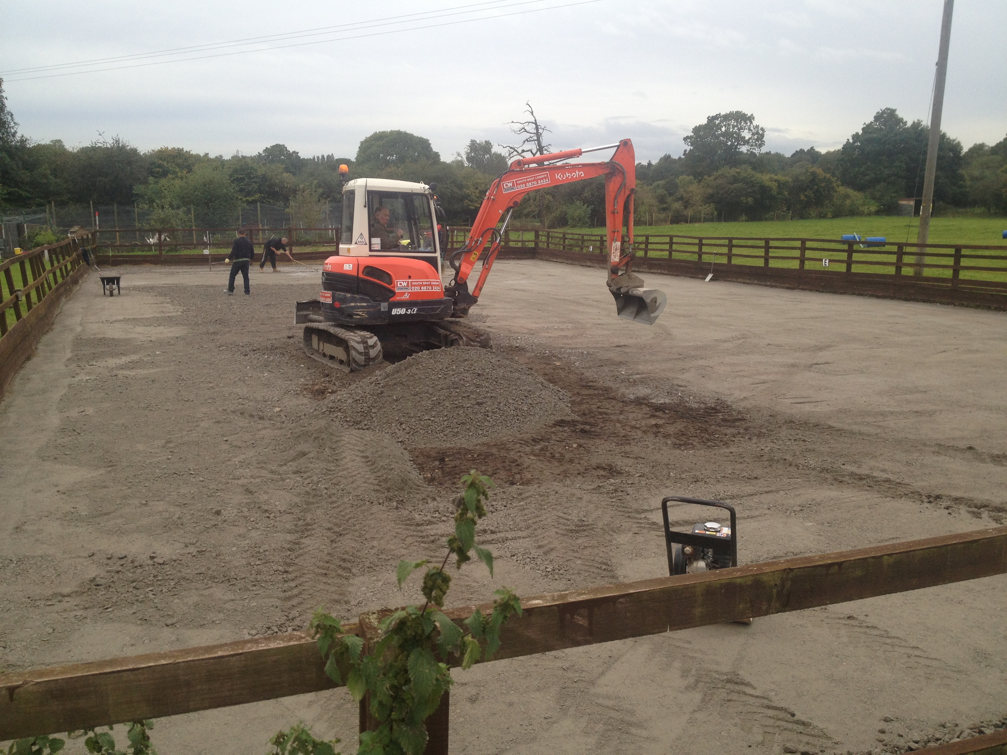 Horse Arena Construction Newlands Bishop Farm
