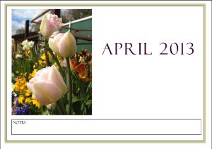 april calender
