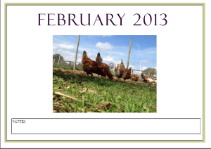 february calender front